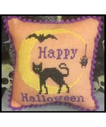 Halloween Moon Kit cross stitch kit Needle Bling Designs  - $10.80