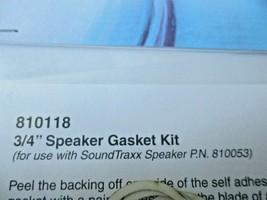 """Soundtraxx #810118 Speaker Gasket Kit  3/4"""" for 810053 Speaker image 2"""