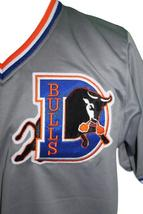 Ebby Calvin Nuke Laloosh Bull Durham Custom Baseball Jersey Grey Any Size image 3