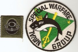 Philippines Navy SEAL Naval Special Warfare Group Airborne SCUBA Badge 3... - $14.99