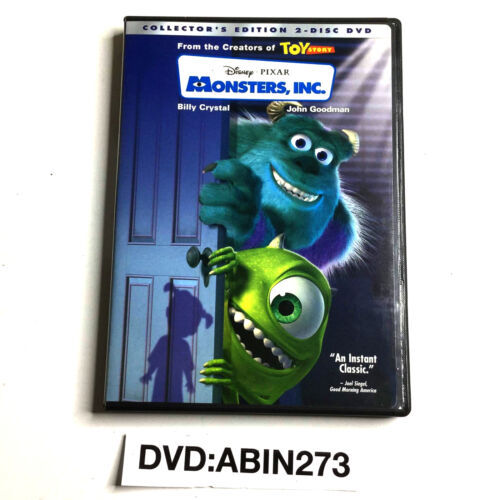 Monsters, Inc Collector's Edition 2-Disc DVD
