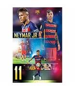 "Trends International FC Barcelona Neymar Jr Wall Poster 22.375"" x 34"" Fr... - $19.88"