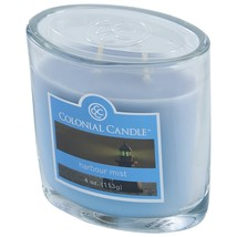 Colonial Candle 4-Ounce Scented Oval Jar Candle, Harbor Mist 2 wick - $12.00