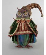 """katherine's collection owl doll spiced  blue green 13"""" 18-844759 retired - $199.99"""