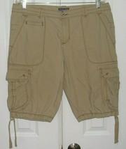 Ralph Lauren Women's Cargo Shorts By Polo J EAN S Co. Floral Trim Size 14 - $59.99