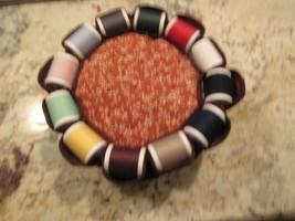 "Sewing Needle Holder / Pincushion  , 7""X7""X2"" , Vintage  - $25.00"
