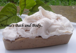 vanilla and chocolate pie soap, pie soap, dessert soap, novelty soap, soap, glyc - $5.25