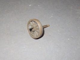 """LIONEL PART -STEAM ENGINE GEARED WHEEL W/AXLE & STUB -NO FLANGE - 1 3/8""""... - $4.81"""