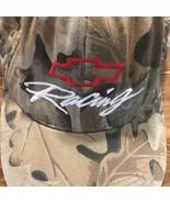 CHEVROLET Camo Chevy Racing Baseball Cap Hat Snapback Bow Tie Logo - $15.00