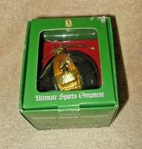 SCOTTISH CHRISTMAS ORNAMENT BLOWN GLASS GEORGIA TECH BASKETBALL WITH MAS... - $14.99