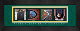 North Dakota State University Officially Licensed Framed Campus Letter Art - $39.95