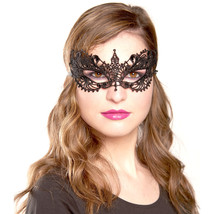 Black Masquerade Mask For Women, Lace Half Sexy Masquerade Party Masks - $10.42 CAD