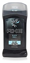 AXE Deodorant Stick for Men, Black Chill 3 Ounces Pack of 3