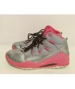 616593-019 Nike Air Jordan Prime Flight (GG) Silver/Pink-Black Sz 3.5Y B... - $19.79