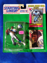 Barry Sanders - 1993 Starting Lineup NFL Action Figure with card - Detroit Lions - $14.20