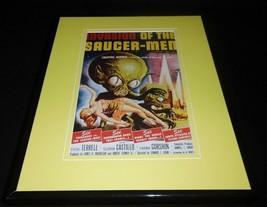Invasion of the Saucer Men Framed 11x14 Poster Display Frank Gorshin - $32.36
