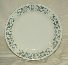 """Vintage Homer Laughlin Restaurant Ware 9"""" Luncheon Plate White w Gray Ab... - $21.77"""