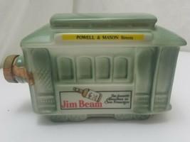 Vintage Jim Beam San Francisco Powell & Mason Trolley Car Decanter Empty... - $8.75