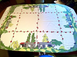 Startex Starmont Suburbia Tablecloth - $85.00