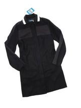 UNDER ARMOUR Sportswear UAS Women's Rugby Trench coat Jacket Black Wool ... - $168.26