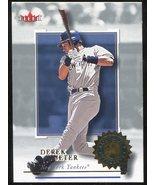 2001 Fleer Authority #28 Derek Jeter - $3.00