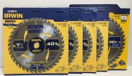 "(New) Irwin Marathon 7-1/4"" 40 T Circular Blade 14031 Lot of 5 - $48.50"