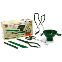 Norpro 6 Piece Canning Essentials Tool Set Boxed Capture Fruit and Veget... - $16.09