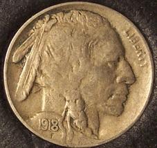 1918 Buffalo Nickel XF #0287 - $26.99