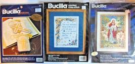 Bucilla Cross Stitch Lot The Good Shepherd - Most Beautiful Things - Rosary - $0.98
