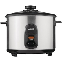 BRENTWOOD(R) APPLIANCES TS-10 5-Cup Stainless Steel Rice Cooker - $43.99