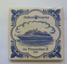 Tile Holland America MS Prinsendam II 2002 Cor... - $10.00