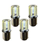 4-Pack HQRP 110V 3W BA15d Base LED Light Bulb for Kenmore Series Sewing ... - $22.45