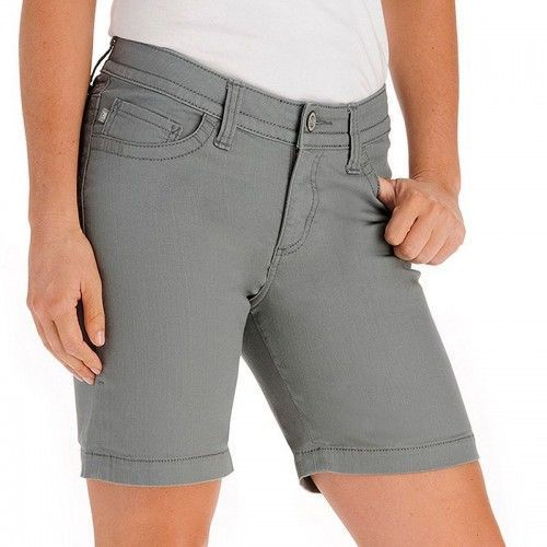 Primary image for Lee Cheyenne Slender Secret Gray Lace Twill Shorts Sizes 6M, 14M