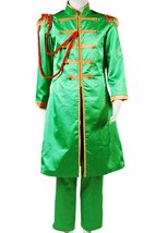 The Beatles Costume Sgt.Pepper's Lonely Hearts Club John Lennon Cosplay ... - $89.96