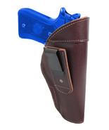 New Barsony Burgundy Leather Tuckable IWB Holster Full Size 9mm 40 45 Pi... - $32.99