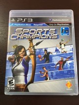 SPORTS CHAMPIONS {SONY PLAY STATION 3} 2010 GAME Free Shipping!!! - $7.66