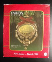 Carlton Cards Heirloom Christmas Ornament 1998 New Home Door Knocker Boxed - $10.99