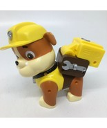 """Paw Patrol Action Pack Rubble w/ Jackhammer Figure Toy 6"""" tall - $9.49"""