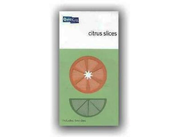 QuicKutz Citrus Slices Dies #KS-0556, Set of 2