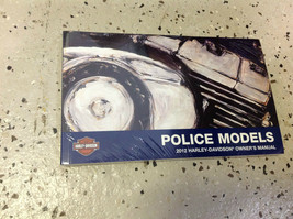 2012 Harley Davidson Police Models Owners Owner's Operators Manual New Oem - $46.43