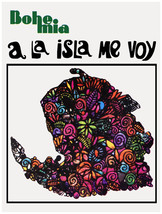 "16x20""Decoration Poster.Interior room design art.Isla de Pinos.Cuba.6619 - $18.00"
