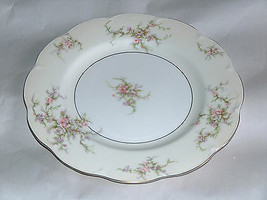 "1 Theodore Haviland New York 10 1/2"" ROSALINDE Replacement Dinner Plate Dish USA - $16.53"