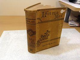 Little Men by Louisa M. Alcott Antique Hardcover Book image 3