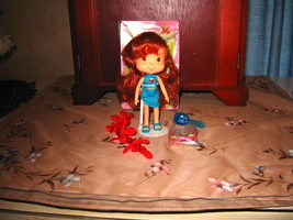 Bandai Tropical Girl Strawberry Shortcake w/ Bracelet, Sunglasses, Stand, Comb - $15.00
