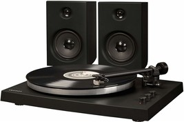 Crosley T150A-BK T150 2 Speed Bluetooth Record Player Turntable w/Speake... - £117.08 GBP