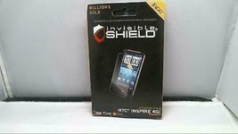 Zagg invisibleSHIELD Milatary Grade Screen Protector for HTC Inspire 4G - $5.43
