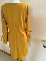 Women's Dress,XL,Yellow,Long Sleeves ,Armani Collezioni,NWOT image 4