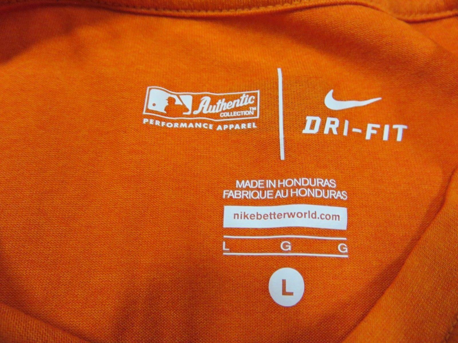 5793b660 NIKE Orange Detroit Tigers MLB Baseball and 50 similar items