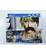 Fred And Friends Munchstaches Combo Stamper & Cookie Cutters 5 Mustache ... - $9.70
