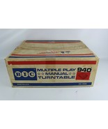 BIC 940 Multiple Play Manual Turntable Empty BOX ONLY - BOX ONLY - $41.11
